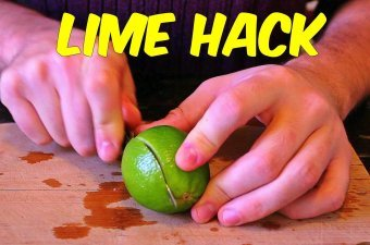 (Video) How to properly cut and juice a lime