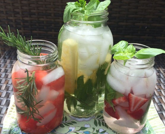 Simple and Exciting Spa Water Recipes