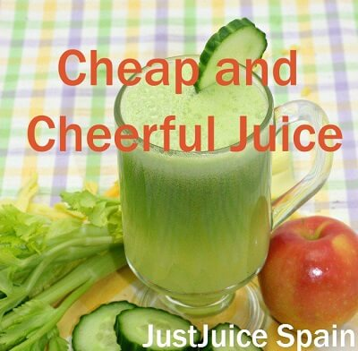 """Cheap and Cheerful"" Juice doesn't cost an arm and leg to make!!!"