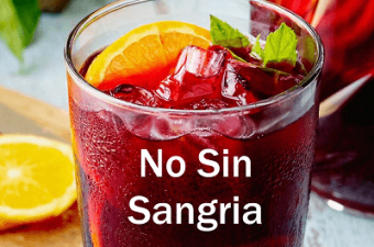 "Always Win in the End… with the ""No Sin Sangria"" Juice Recipe"