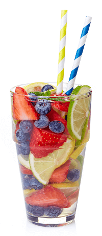 Berry Citrus Infused Water