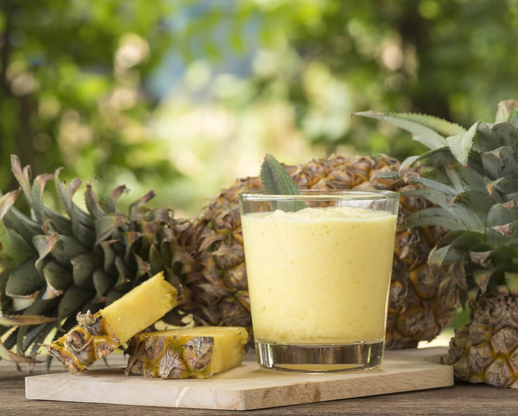Pineapple Smoothie 101